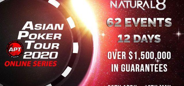 Tur Poker Asia Bermitra Dengan Natural8 Untuk Seri Online Pertama Kali
