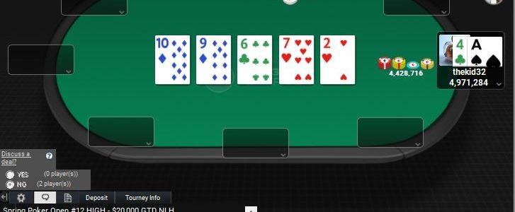 """thekid32"" Memenangkan Acara Seri Online Online Borgata Spring Poker # 12: $ 20K NLH"