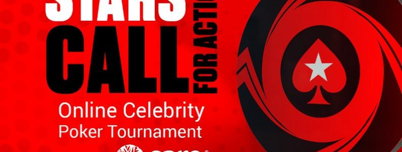 Stars CALL for Action charity poker tournament logo