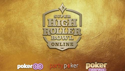 Poker Central menjadi tuan rumah Super High Roller Bowl online dari 23 Mei - 1 Juni
