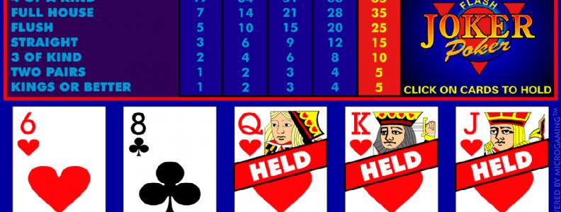 Apakah memilih permainan video poker online berbeda dari memilih satu di kasino langsung? |